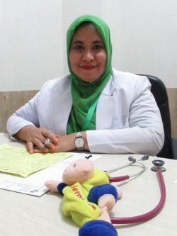 dr. Hervina Sari Nasution, M.Ked(Ped). Sp. A