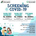 RAPID TEST & SWAB PCR SARS-CoV 19 (COVID-19)